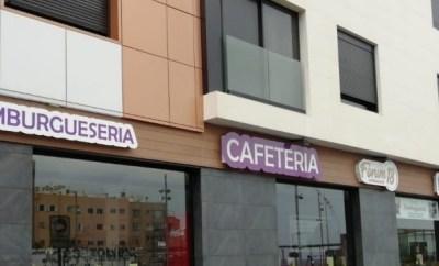 Fachada Cafetería Forum 18 Gran Canaria