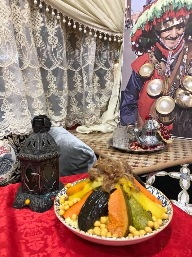 cuscús plato principal cocina marroquí
