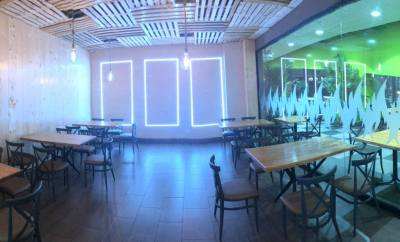 interior restaurante asador iré