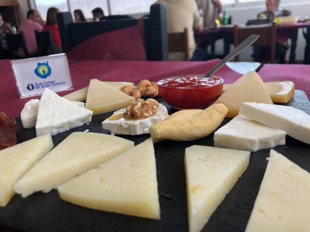tabla de quesos el palmito