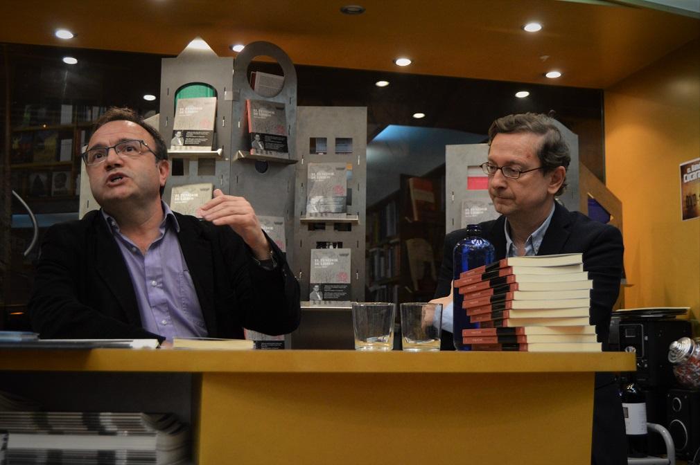 José Domingo Dueñas y José Luis Melero.
