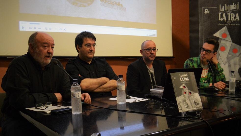 Víctor Pardo, Daniel Viñuales, Juan Pérez y