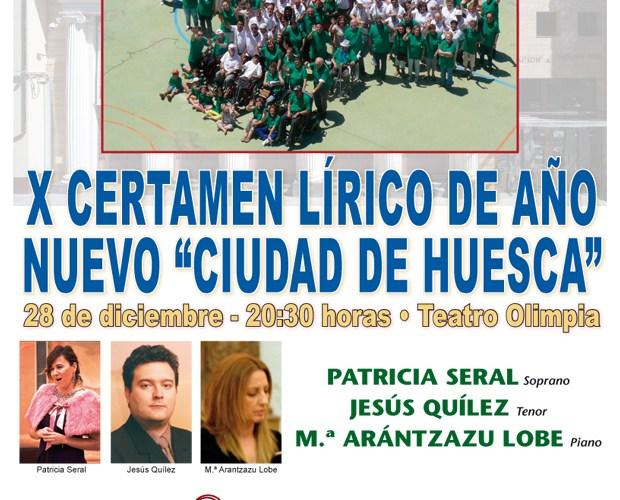 Certamen Lírico de Año Nuevo Ciudad de Huesca