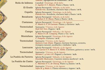 Festival de la Ribagorza Clásicos en la frontera