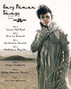 Plakat trasy Gary'ego Numana i Jayce'a Lewisa