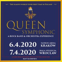 Dwa koncerty Queen Symphonic: A Rock Band & Orchestra Experience w Polsce
