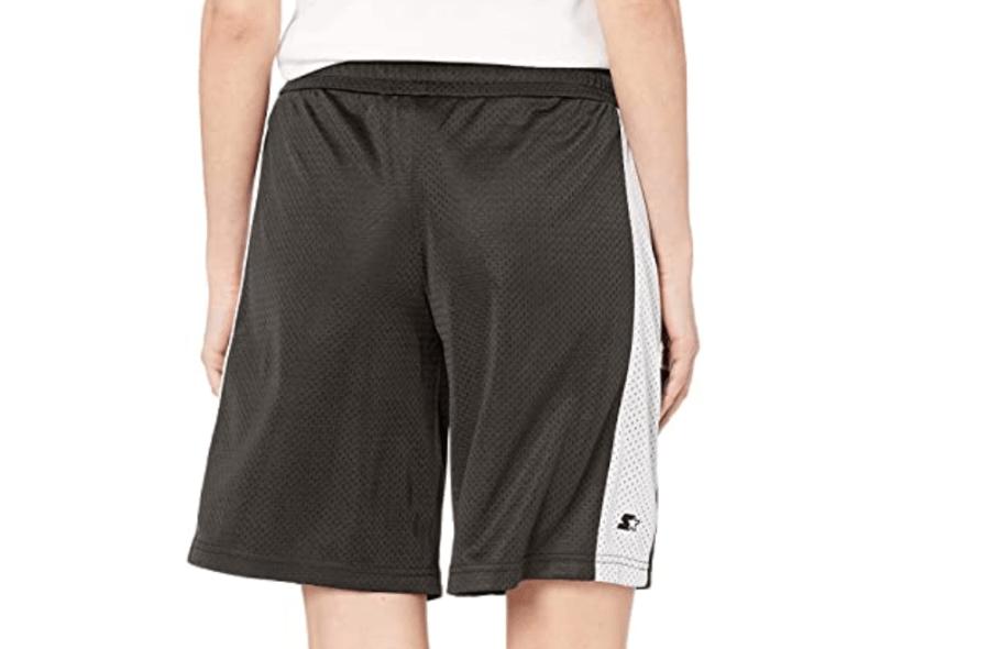 Starter women's knee-length basketball shorts