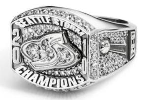 The Seattle Storm 2010 WNBA Championship ring