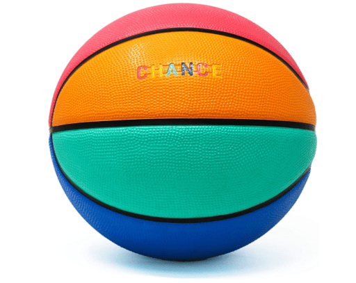 Chance Premium Rubber Outdoor Indoor Basketball for women 28.5 inches
