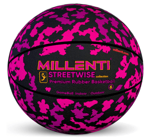 Millenti Camo Basketball Ball Camouflage for women