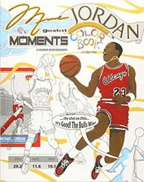Michael Jordan basketball coloring book