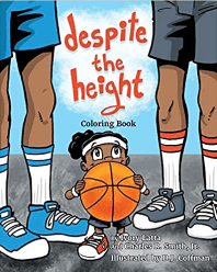 Despite the height WNBA player coloring book