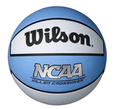 Wilson Killer Crossover Basketball, Carolina Blue/White for women