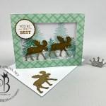 August Paper Pumpkin Worlds Greatest Merry Moose by Lisa Ann Bernard of Queen B Creations
