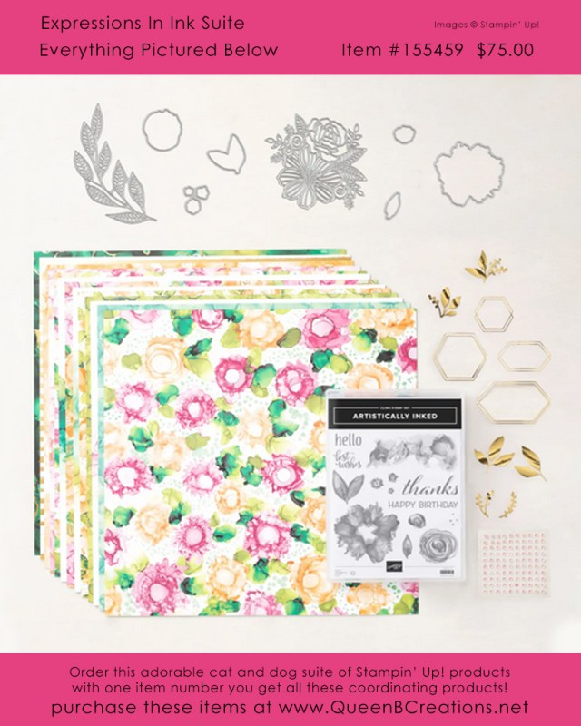 Stampin' Up! Expression in Ink Suite - Artistically Inked Bundle - buy online with Lisa Ann Bernard of Queen B Creations