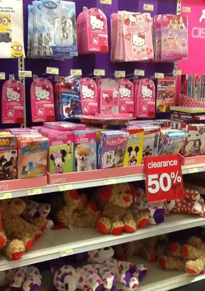 Target Valentines Clearance 50 Off Candy 30 Off