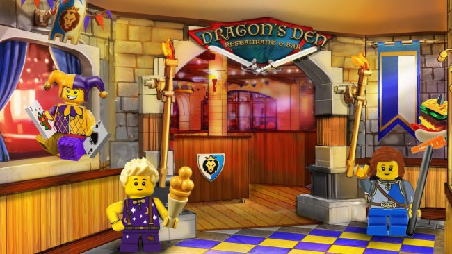 LEGOLAND-Castle-Dragons-Den