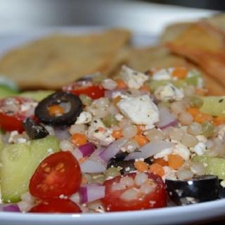 Greek garden couscous