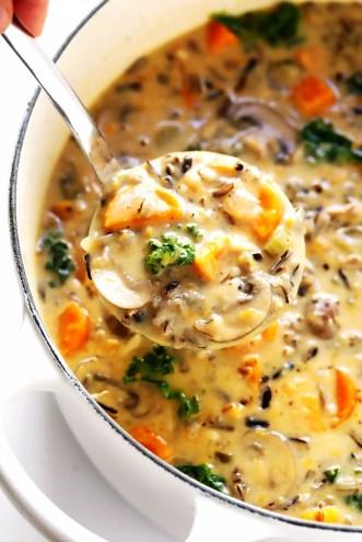 Autumn Wild Rice Soup Recipe 2