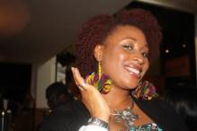 Wearing Afrofusion Earrings