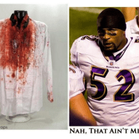 Ray Lewis Says He Didn't Murder Those Two Guys Back in 2000 Because He Was Dressed Too Nice That Night So It's Cool