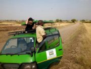 A game drive in Queen Elizabeth National Park