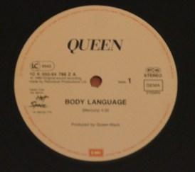 Body Language maxi 45 tours Allemagne