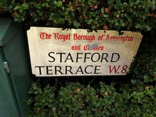 Stattord Terrace, London