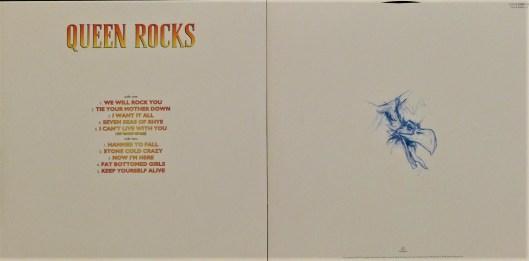 Le Double Vinyle Queen Rocks