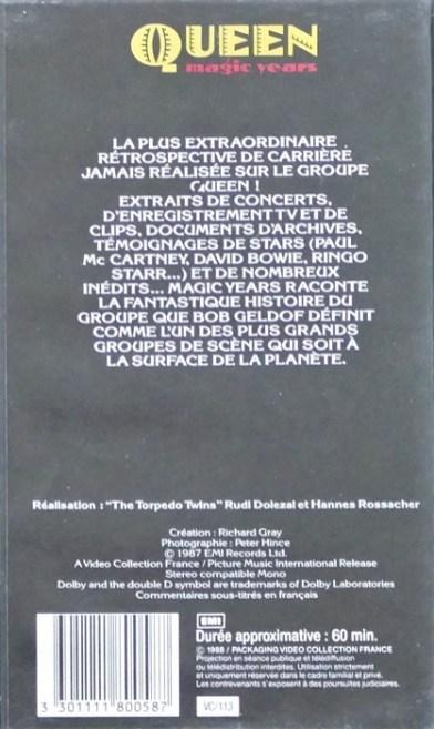 VHS 1h France