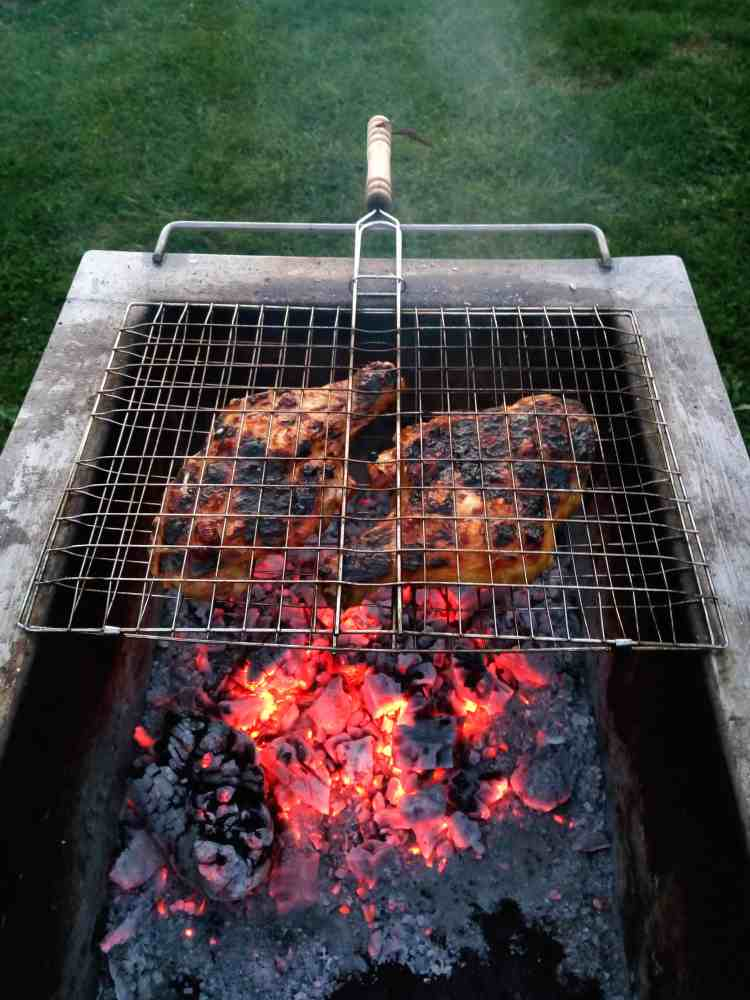 low carb barbequed chicken
