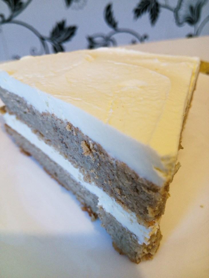 sugar free cinnamon sponge cake