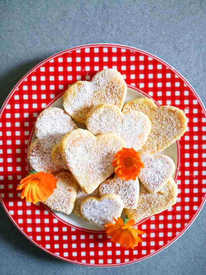 sugar free no-bake orange biscuits