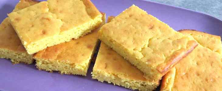 Sugar Free Low Carb Simple Sponge Cake