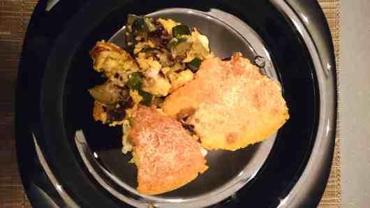 easy zucchini and radicchio bake 5