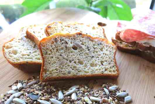 Quick & Easy Keto Low Carb Seeded Protein Bread