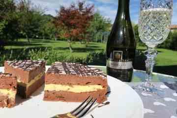 Easy Sugar Free KetoChocolate Protein Cake
