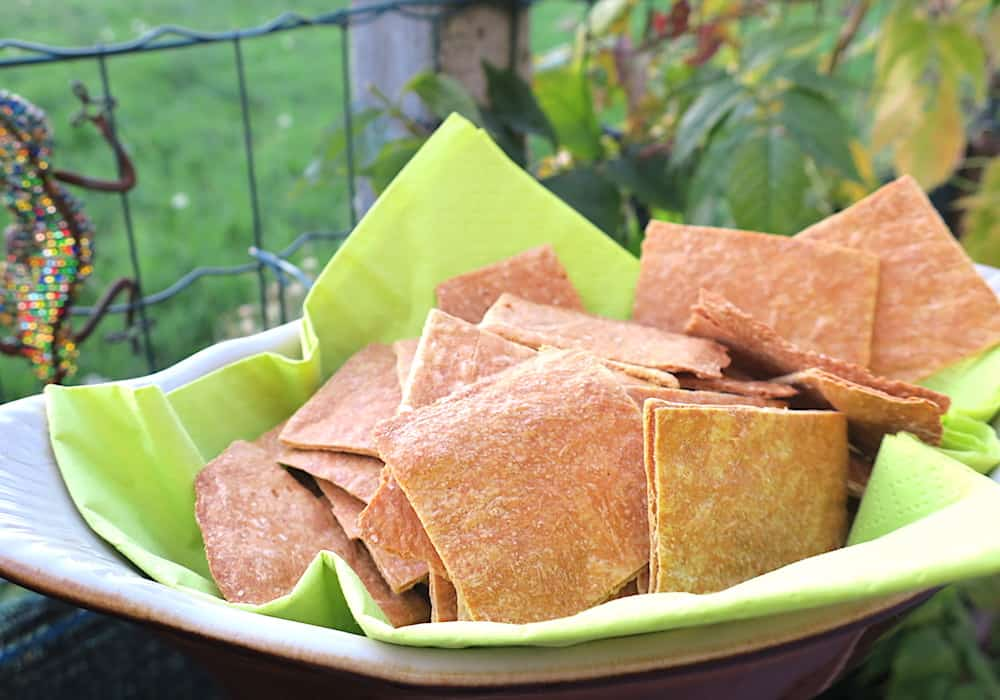 Easiest Crunchy Low Carb Fathead Crackers