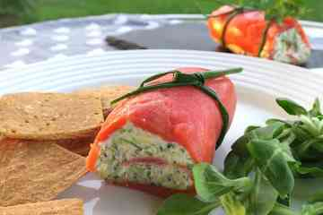 Low Carb Low Calorie Wild Salmon Roll