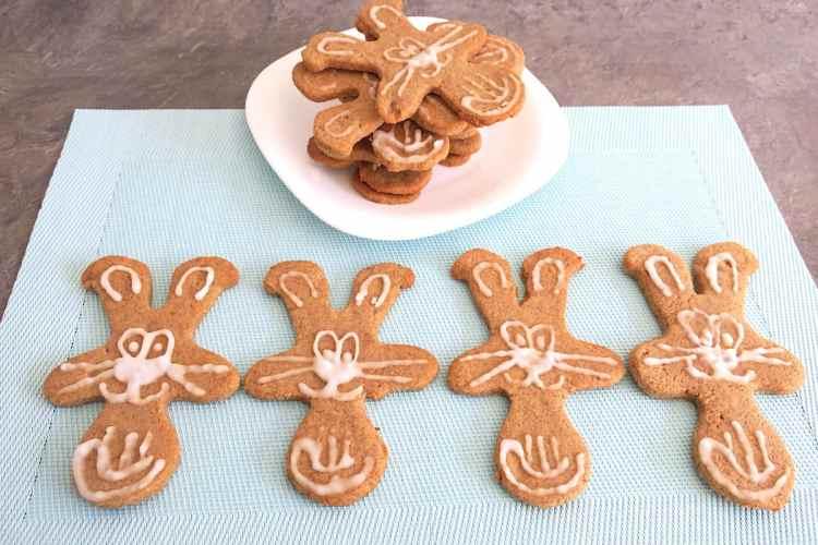 Cute Sugar Free Keto Gingerbread Cats