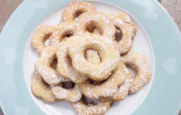 Keto Sugar Free Italian Canestrelli Biscuits