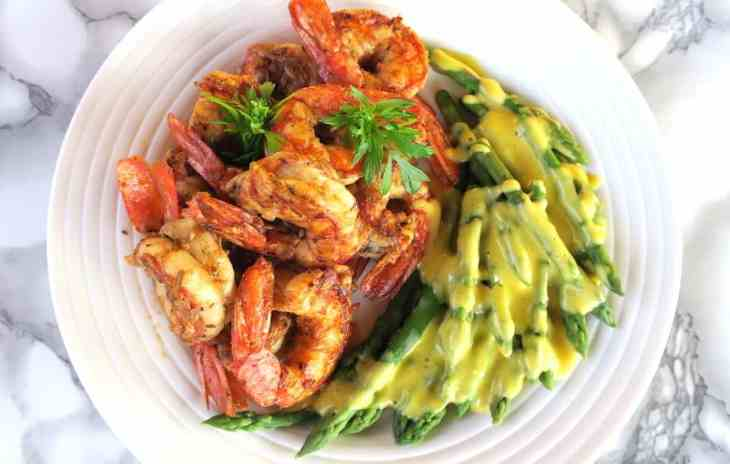 Low Carb Cricket Cajun Argentine Prawns