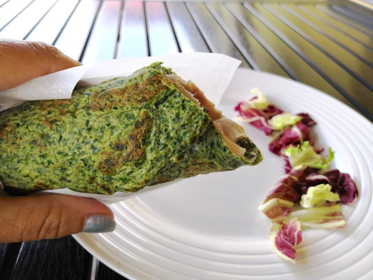 Low Carb Quick & Easy Spinach Tortilla Wraps