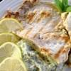 Swordfish Steak with Parsley Cauliflower Purée & Anchovy Emulsion