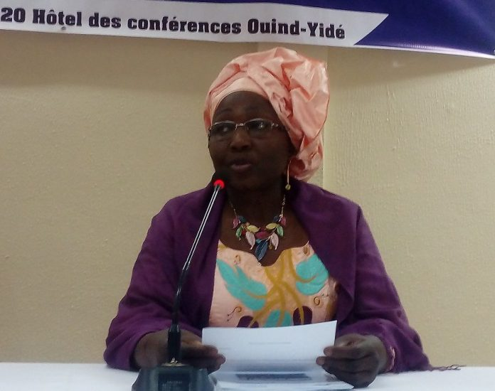 Aminata Rabo, chef d'équipe pays de PP global au Burkina Faso