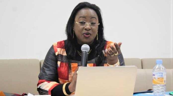 Salimata Nébié, SG de Think Tank Burkina International