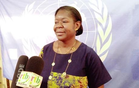 Janine Ouattara, responsable pays inclusion financière et numérique de l'UNCDF