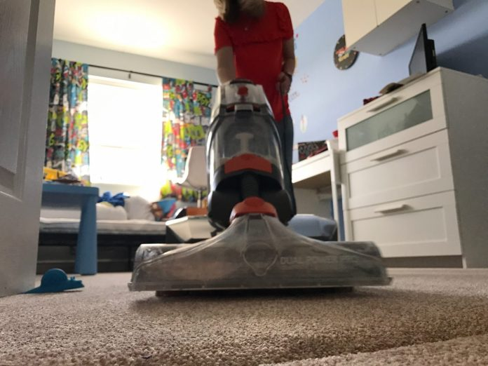 The Vax Dual Power Pro Carpet Cleaner review.