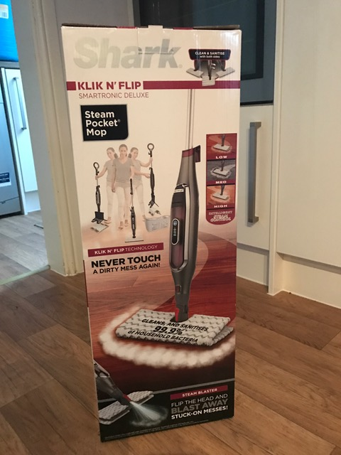 Shark Klick and Flip steam mop – My product review.