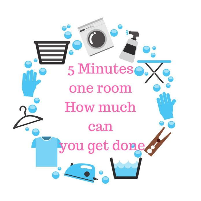 5 Minute Cleaning Challenge